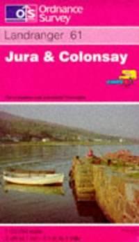 image of Jura and Colonsay - Ordnance Survey Landranger Maps 61