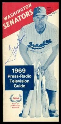 image of WASHINGTON SENATORS 1969 PRESS-RADIO TELEVISION GUIDE