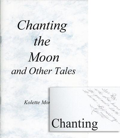 N.p.: Kolette Montague, 2007. First Edition. Octavo (22cm.); publisher's marbled staplebound card wr...