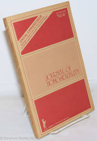 image of Journal of Homosexuality: vol. 5, #3, Spring 1980: special expanded issue on STDs