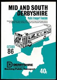 image of Mid & South Derbyshire Public Transport Timetable: October 86