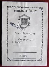 image of Ex-libris Québec. Petit Séminaire de Chicoutimi
