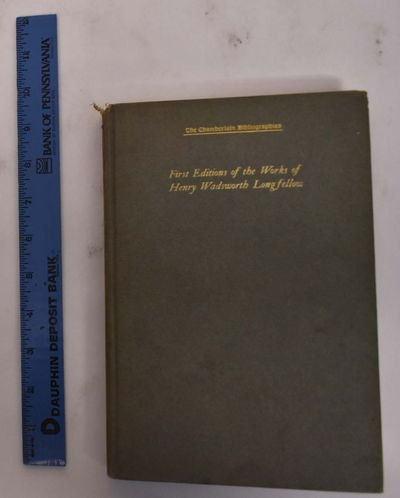New York: Privately printed, 1908. Hardcover. VG (light wear to spine edges, very light wear to boar...