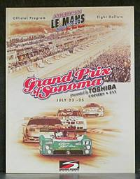 American Le Mans Series: Grand Prix of Sonoma July 23-25, 1999: Official Program