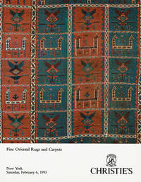 FINE ORIENTAL RUGS AND CARPETS: The Properties of The Estate of Isabella  Da Costa Sage....[et al]. Saruday, Februry 6, 1993,