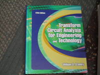 image of Transform Circuit Analysis for Engineering and Technology (5th Edition)