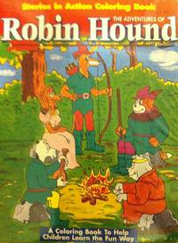 Adventures of Robin Hound Coloring Book