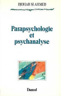 Parapsychologie et psychanalyse