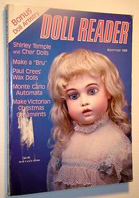 Doll Reader Magazine, November 1989: Shirley Temple and Cher Dolls