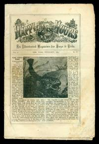 HAPPY HOURS - An Illustrated Magazine for Boys and Girls - Volume 1, number 2 - February 1871