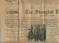 """Italy's Polar Explorer (Nobile); Surrender of Tientsin to Nationalist forces in China in """"The Shanghai Times"""", June 12, 1928"""