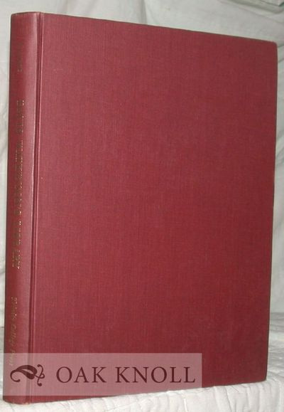 Hartford, Conn: Trinity College Press, 1966. cloth. 4to. cloth. xii, 177 pages. Contains many illust...