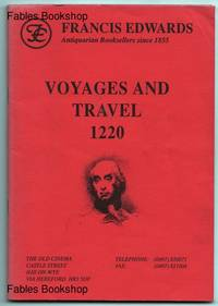 VOYAGES AND TRAVEL 1220.