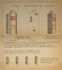 SIGNAL CODE AND APPARATUS FOR THE USE OF VESSELS TO FACILITATE THE APPLICATION OF THE RULE OF THE ROAD AND ALSO FOR LIGHT-HOUSE NOMENCLATURE by  William C Seaton - Paperback - First Edition - 1881 - from W. C. Baker Rare Books & Ephemera and Biblio.com