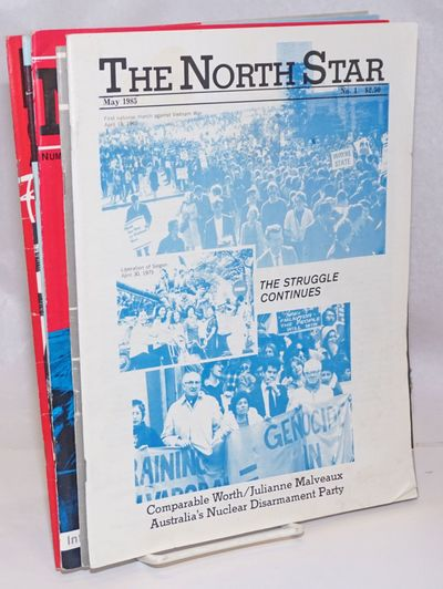 Berkeley: North Star Network, 1985. Near complete run of the short-lived journal in its two incarnat...