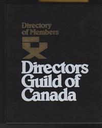 Directors Guild of Canada: Directory of Members
