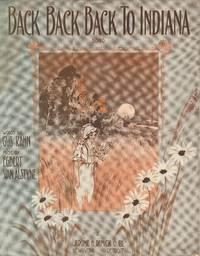 Back Back Back to Indiana - Sheet Music