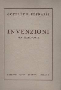 INVENZIONI per Pianoforte
