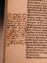 [Grammatica]: Compendium octo partium orationis by  Laurentius VALLA - Hardcover - 1500 - from Schilb Antiquarian Rare Books and Biblio.com