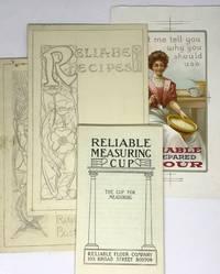 [ORIGINAL ART] [BAKING] Reliable Flour Company Reliable Measuring Cup pamphlets