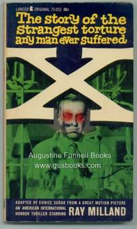 X by  Eunice Sudak - Paperback - First Edition - 1963 - from Augustine Funnell Books and Biblio.co.uk