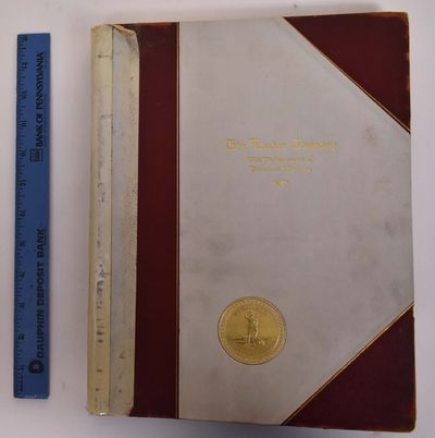 New York/London: / The De Vinne Press, 1908. Hardcover. VG (spine totally broken with crude repair, ...
