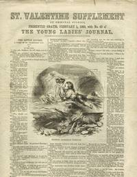 image of St. Valentine Supplement of Original Stories, Presented Gratis, February 1, 1865, with No. 43 of The Young Ladies Journal.