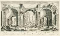 Vestigii dussa parte di dentro delle terme d'Antonino caracala