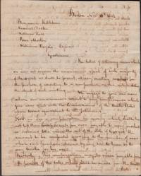 1802 Handwritten Power of Attorney Signed by All 9 Directors of the New England Mississippi Land Company to the Appointed 5 Directors That Would Negotiate Their Vast Claim with the United States Commissioners with Respect to Georgia Lands Ceded to the United States
