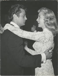 image of Original photograph of Tony Curtis and Janet Leigh dancing, circa 1950s