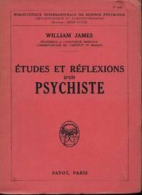 Etudes et réflexions d'un psychiste, traduit de l'anglais par E. Durandeaud