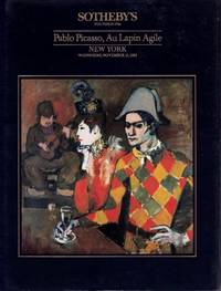 Pablo Picasso, Au Lapin Agile November 15, 1989