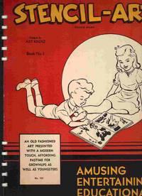 Stencil-Art Book No. 1 by Krenz, Art, Designs by