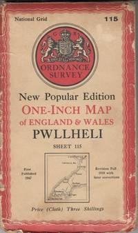 Ordnance Survey Map Of Pwllheli : Sheet 115