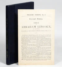 Speech of Abraham Lincoln of Illinois, Delivered at the Cooper Institute, Monday, Feb. 27, 1860 [Cooper Union Address]