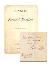 Sonnets to the Memory of Frederick Douglass (Presentation Copy)