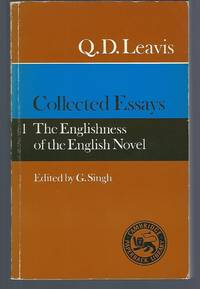 image of Collected Essays: Volume 1. The Englishness of the English Novel