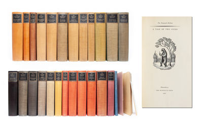Bloomsbury: Nonesuch Press, 1939. First Thus. Near Fine. One of 877 sets in 24 volumes rather than 2...