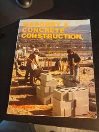 image of Masonry and Concrete Construction