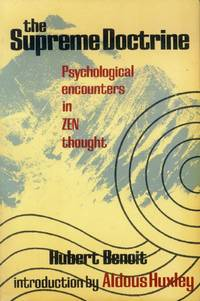 image of The supreme Doctrine; Psychological Encounters in Zen Thought