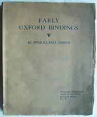 Early Oxford Bindings