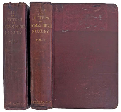 London:: Macmillan, 1900., 1900. 2 volumes. 8vo. viii, , 503, ; vi, , 504, pp. Frontis. portraits, 1...