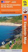 image of South Pembrokeshire (OS Explorer Map)