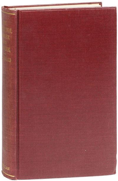 New York: Macmillan Company, 1924. First American Edition. Octavo (19.5cm.); original maroon blind-r...