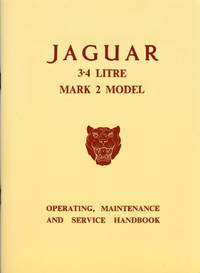 Jaguar 3.4 Litre Mark 2 Model