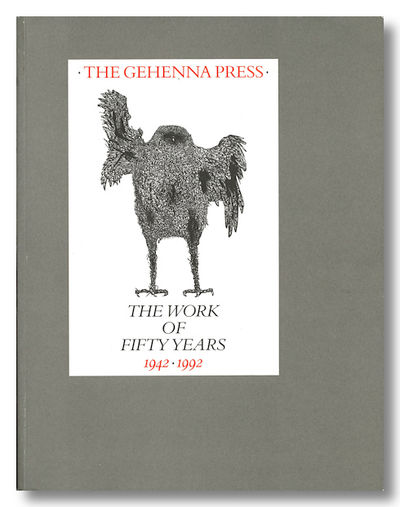 : The Bridwell Library & The Gehenna Press, 1992. 238,pp. Small quarto. Stiff pictorial wrappers. Il...