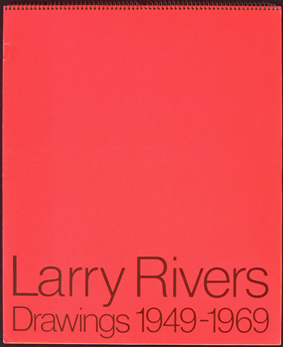 Chicago: Art Institute of Chicago, 1970. First edition. Orange-red Day-Glo spiral bound boards with ...