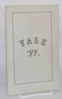 image of Yale '77.; Statistics of the class of '77 Yale. /