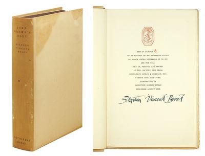 Garden City, NY: Doubleday, Doran & Company, 1928. 8vo, (x), 377 pp. Original plain tan boards, lett...