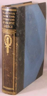 Readings From the Literature of Ancient Greece, in English Translations.